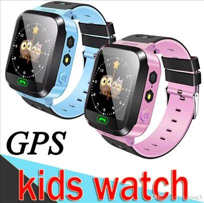SAT PAMETNI DECIJI SMARTWATCH TELEFON GPS Q528
