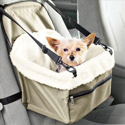 Sedište sigurnosno – nosiljka za pse za auto