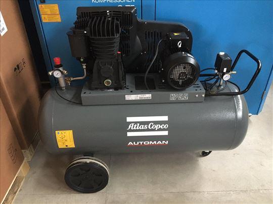 Klipni kompresor Atls Copco 4kW - Novo