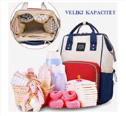 Multifunkcionalna torba/ranac za mame