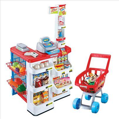 Super market i kolica