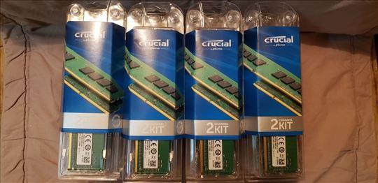 DDR4 16GB (2x 8GB) 2400 CL17 `CRUCIAL` (PC 19200)