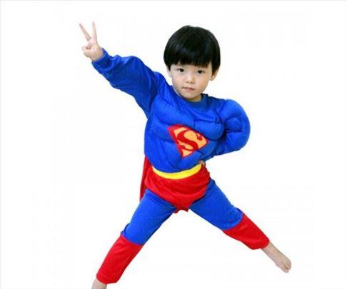 KOSTIM SUPERMAN SA MIŠIĆIMA ZA DEČAKE