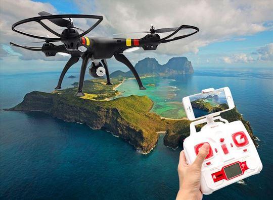 SYMA X8W DRON – KVADKOPTER SA WIFI FPV KAMEROM