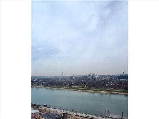 Dvosoban stan sa pogledom na reku, Vista, Beograd
