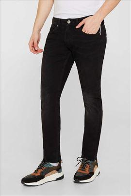 ESPRIT slim fit farmerke, crne boje, W36 L36
