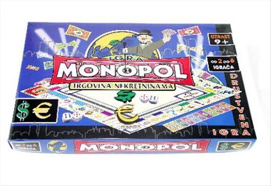 Monopol na srpskom 2- društvena igra