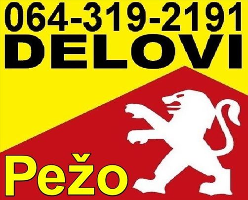 DELOVI Pežo polovni i novi Peugeot