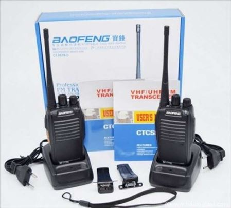 Dve Baofeng radio stanice sa opremom – BF-777S