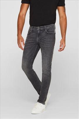 ESPRIT skinny fit farmerke, sive boje, W36 L36