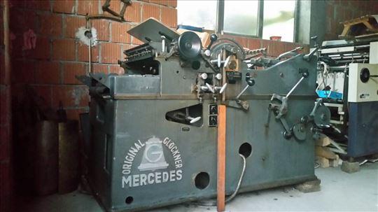 Mercedes štamparska mašina