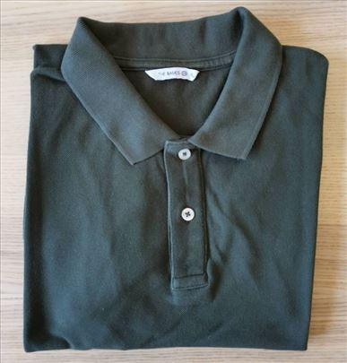 Muška polo majica, maslinaste boje, veličina XL