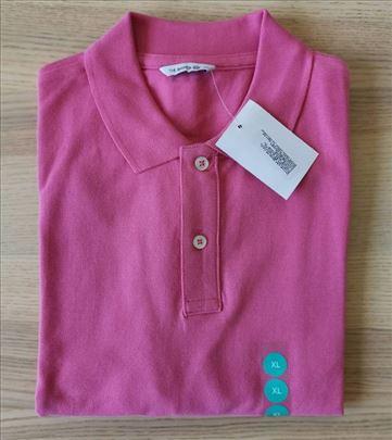 Muška polo majica, pink boje, veličina XL - NOVO