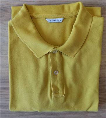 Muška polo majica, žute boje, veličina XL