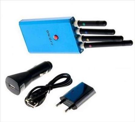 Ometač signala -jammer za GSM/CDMA/DCS/PHS/3G/WIFI