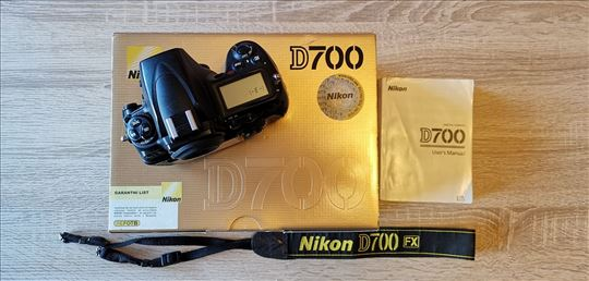 Nikon D700 - 59k okidanja