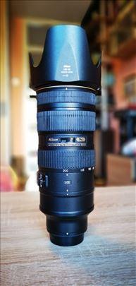 Nikon objektiv Nikkor 70-200 F/2.8 VR2