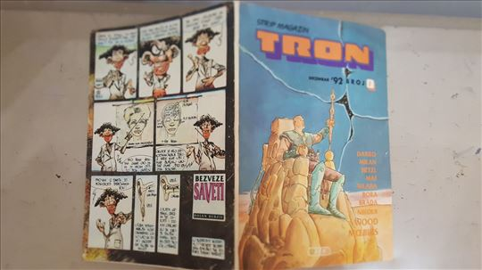 TRON strip magazin