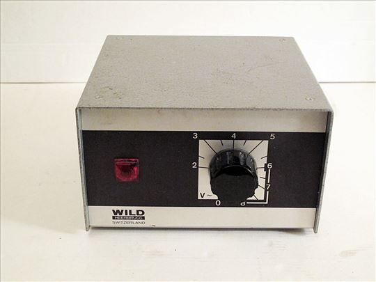Wild Heerbrugg Leitz  Microscope Power Supply