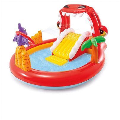 57163 Intex bazen igraonica happy dino