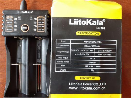 Litokalla punjač svih vrsta baterija