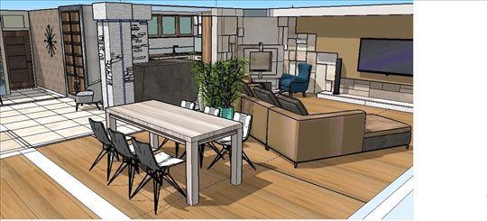 Projekti enterijera adaptacije stanova renoviranje
