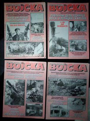 Vojska časopis ratna izdanja iz 1999 godine