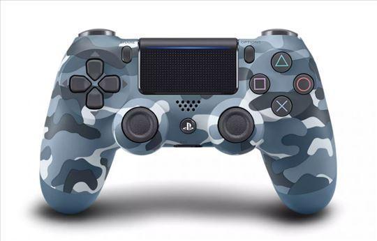 Džojstik za PS4 bežični PS4 sivi maskirni