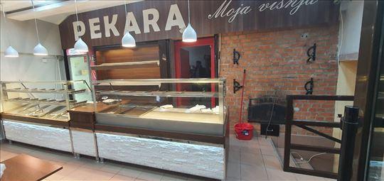 TOPLE,neutralne i stone vitrine za pekare..novo