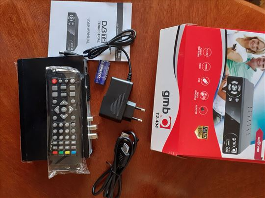 Set top boks DVB-T2 t2 404 sa garancijom od 1 god.