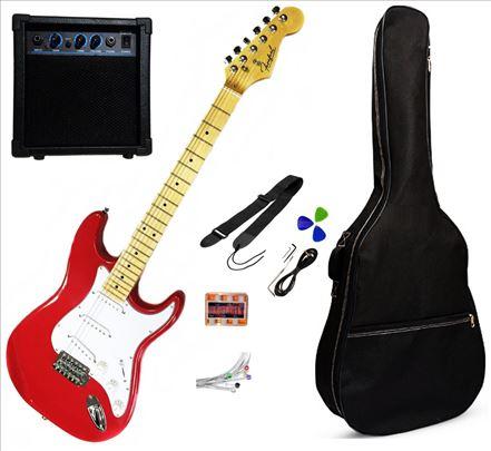 Električna gitara Paket Firefeel S052RD
