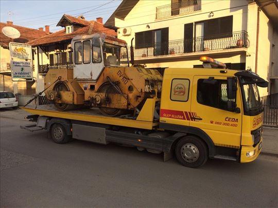 Prevoz radnih masina Slep Sluzba Čeda Kragujevac