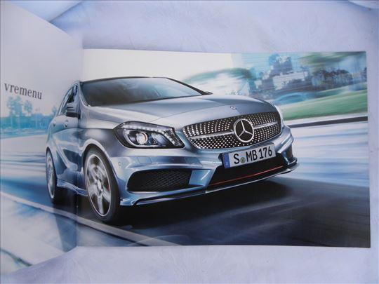 Prospekt Mercedes Benz A klasa, srpski, 18 str, 20