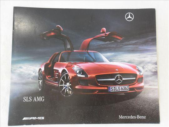 Prospekt Mercedes SLS Coupe AMG 8 str.nem.