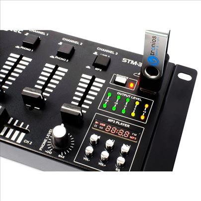 SkyTec STM 3020B 6-Channel Mixer USB MP3