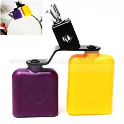 Block Yellow&Purple-zvono za bubanj