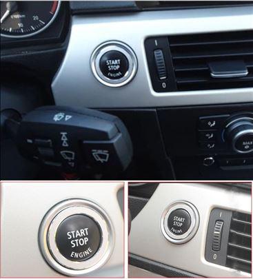 Hrom okvir i start stop dugme za BMW E90 2005-2012