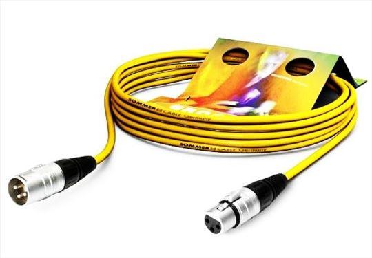 Mikrofonski kabl Sommer SGHN-0500-RT, crveni