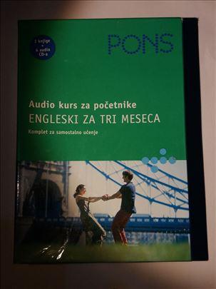 Audio kurs za pocetnike  ENGLESKI ZA TRI MESECA
