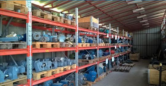 Elektromotori i reduktori, prodaja