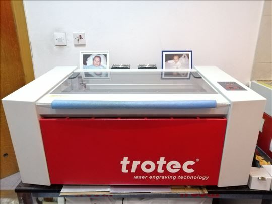 Trotec Speedy 100 R 12 W laser CO2 za graviranje