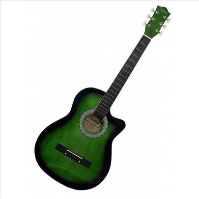 """Firefeel S015C Akustična Western Gitara 38"""" Cutawa"""