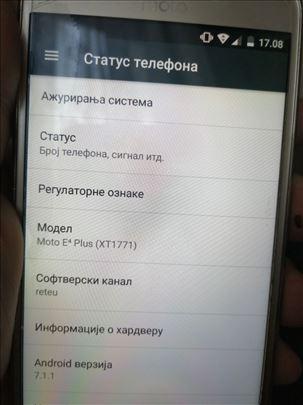 Motorola  moto E4 plus u top stanju 10/10