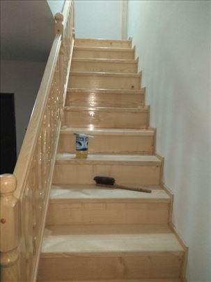 Drvena gazista za stepenice