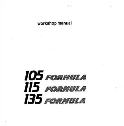 Lamborghini Formula 105 - 115 - 135 Priručnik