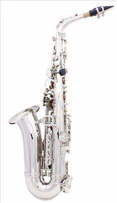Alt Saksofon Silver Novo Akcija