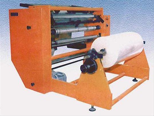 Mašina za uzdužno rezanje papira, netkanih materij