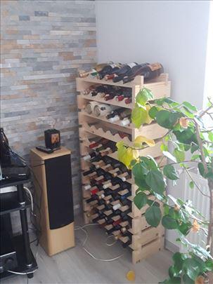 Polica za vina modularna