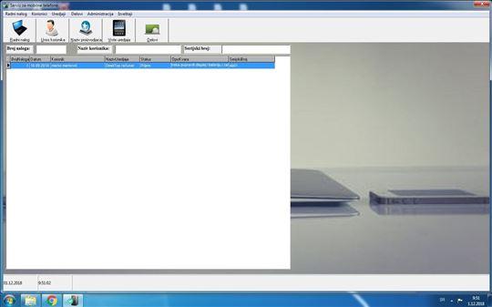 Softver za rad servisa računara i mobilni telefona
