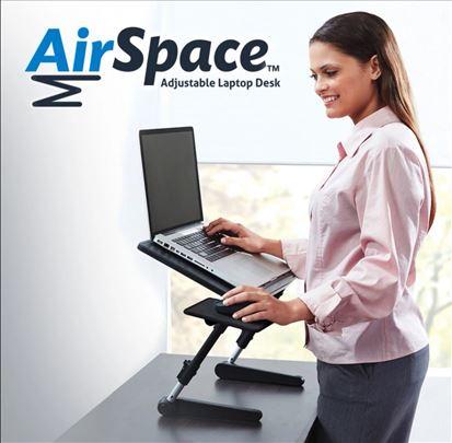 Podesivi sto za Lap Top sa kulerom Air Space